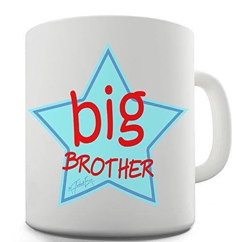 TWISTED ENVY Lustige Kaffee Tasse Becher Big Brother Star Keramiktasse (Big-brother-star)