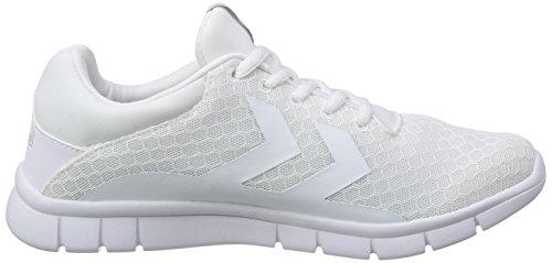 Hummel Effectus Breather, Baskets Basses mixte adulte Blanc pâle
