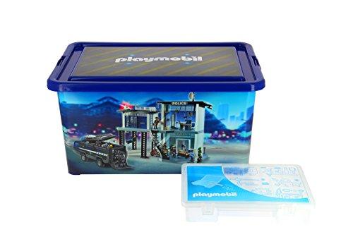 Playmobil - 064670 - Grande Boîte de Rangement 23 L + Boîte...