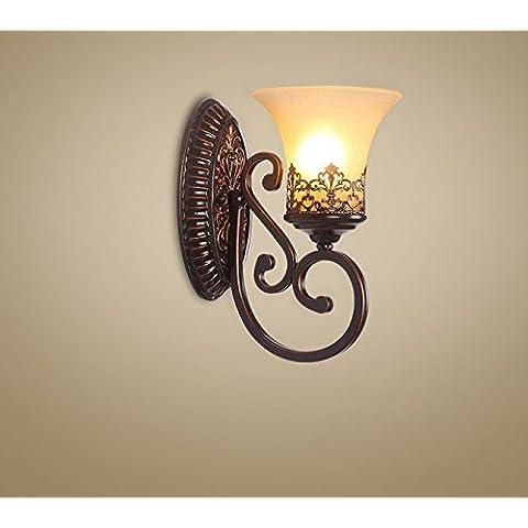 FEI&S stile moderno piccola lampada da parete lampada da parete creativa al posto letto balcone bagno scale luci luci Specchio specchio da parete lampada frontale #6A