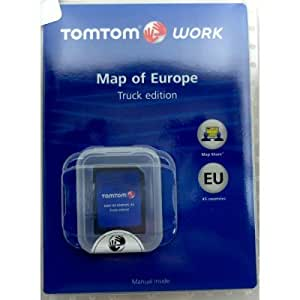 tomtom business micro sd carte de l 39 europe sp ciale camion pour go 7000 go 9000. Black Bedroom Furniture Sets. Home Design Ideas