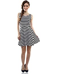 Miss Chase Women's Cotton Skater Dress