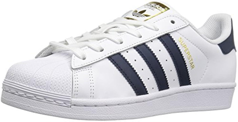adidas originaux des chaussures de de de femme superstar fashion baskets, blanc collegiate marine m | Approvisionnement Suffisant  ad161d