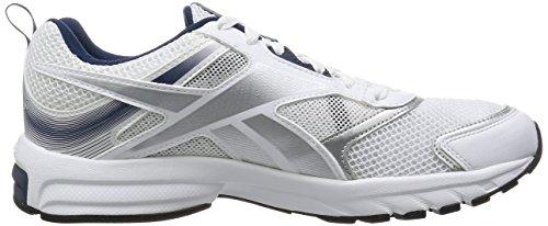 ReebokPheehan Run 4.0 - Scarpe Running uomo Bianco (White (White/Black/Coll Navy/Silver Met/Matte Silver))