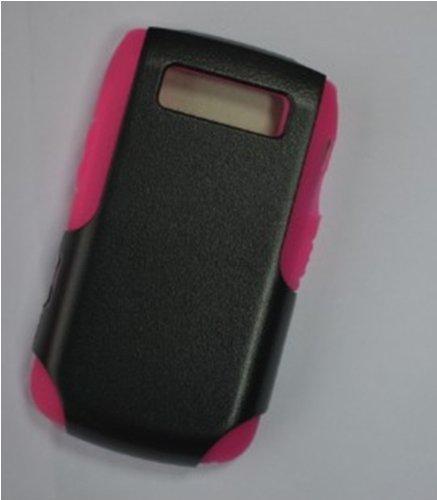 9700 Cover (Kunststoff doppelseitig grün BlackCase Hard Cover für BlackBerry 9700)