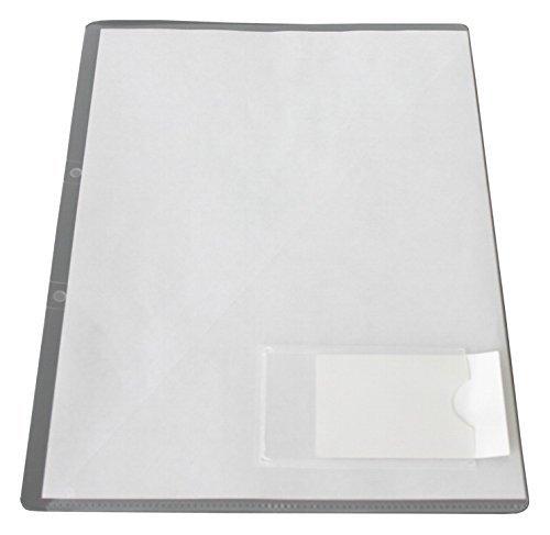 Exxo By Hfp 34561 10 Angebots Einlegemappe A4 Mit Visitenkartentasche Auf Der Vorderseite Transparent