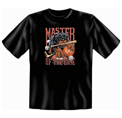 Master of the Game T-Shirt Fb schwarz Schwarz