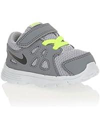 Nike - Zapatillas de nordic walking de Material Sintético para niño gris gris 22