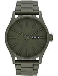 Nixon Herren-Armbanduhr Analog Quarz Edelstahl A3562338-00