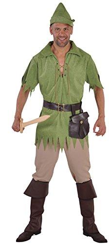 en Robin Hood Jäger Kostüm Gr.S ()