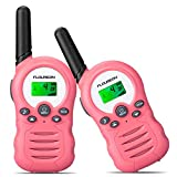 FLOUREON Walkie Talkies,2 Pack para Niños 3.3KM Rango de 8...