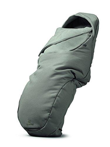 Quinny Universal-Fußsack passend für die meisten Kinderwagen und Buggys, grau
