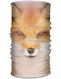 Headwear Multifunctional Sweatband Fox Yellow Leaves Face Mask Scarf Bandana Head Wrap Liner