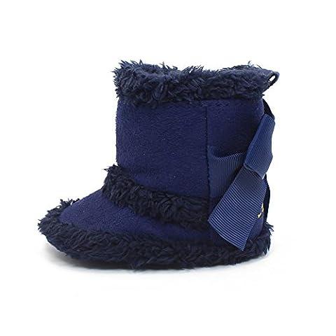 Itaar Baby Stiefel Schneestiefel Mädchen Winter warm Säuglingskleinkind mit schönem