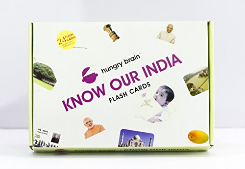 Know Our India Hungry Brain Flash Cards
