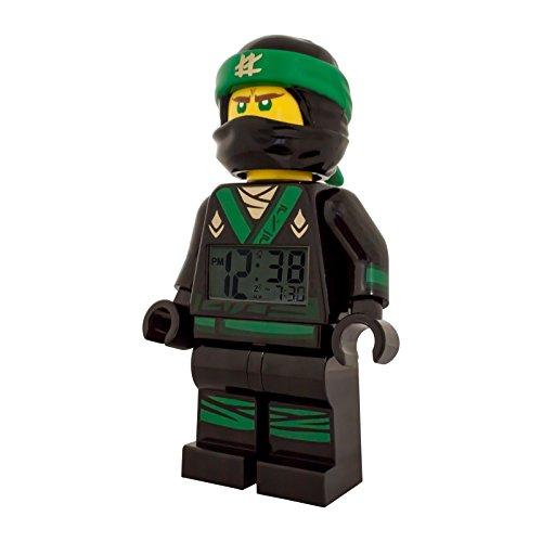 LEGO-Ninjago-Movie-Lloyd-Kinder-Uhr-Jungs-Digital-Wecker-ULE9009204
