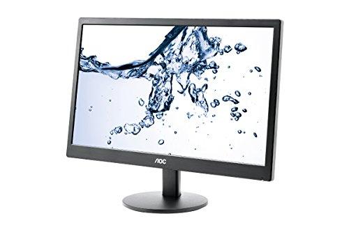 AOC 18.5Inch LED E970SWNL Monitor, black