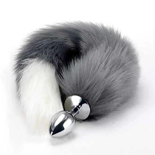 Tail Faux Kostüm Fox - Styde Faux Fox Tail Plug für Erwachsene Cosplay Kostüm