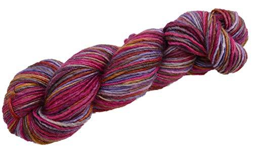 Manos del Uruguay Silk Blend Fb. SB3106 - Autumn, 50g Merinowolle mit Seide, handgefärbt mit wunderschönem Farbverlauf, Wolle mit Seide zum Stricken -