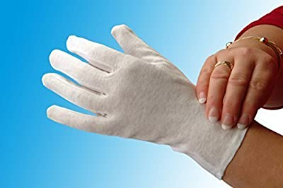 Cotton Moisturising Gloves