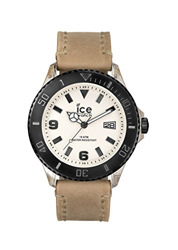 Ice Watch Men's Quartz Watch with Black Dial Analogue Display Quartz Leather VT. SD. BB. L.13