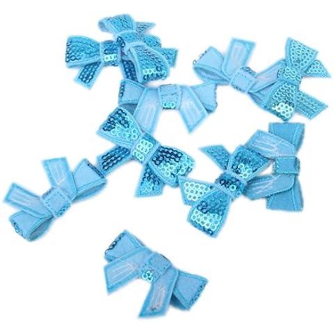 10 pcs microabrasivi Glitter Pailletten