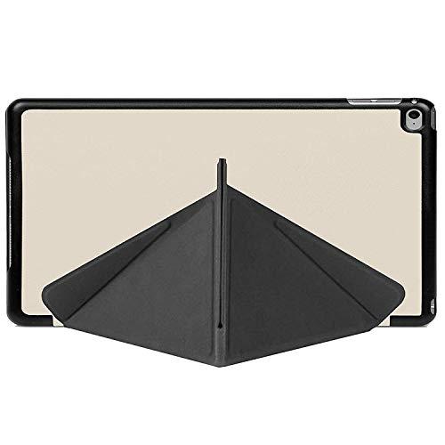 Forefront Cases® Apple iPad Mini 4 / 4th Gen Origami Hülle Schutzhülle Tasche Bumper Folio Smart Case Cover Stand - Ultra Dünn Leicht mit Rundum-Geräteschutz und intelligente Auto Schlaf / Wach Funktion inkl. Eingabestift und Displayschutz (WEIß) (Ipad 4 Gen)