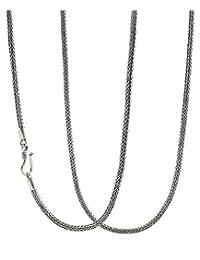 2e25929b2e1c Amazon.es  cadenas serpiente plata - Cadenas   Collares y colgantes ...