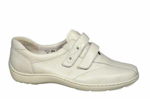 WALDLÄUFER HENNI 496301172148 femmes Mocassins, Blanc - Blanc
