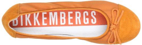 Bikkembergs PRETTY D58 SUEDE/NYLON BKJ102517 Mädchen Ballerinas Orange (ORANGE/ORANGE)