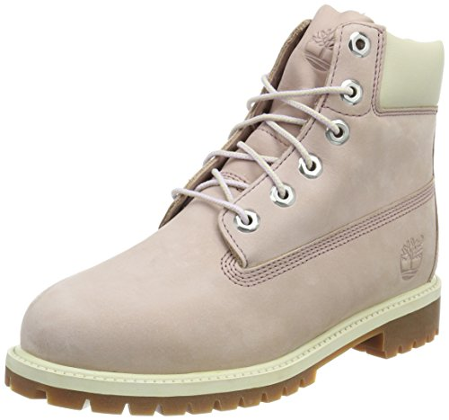 Timberland 6 in Classic Boot FTC_6 in Premium WP Boot 14749, Unisex-Kinder Stiefel Violett (Lavender)