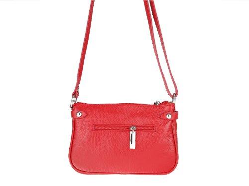 scarlet bijoux, Borsa a tracolla donna Rosso (rosso)
