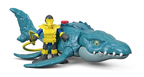 Imaginext Fisher-Price Jurassic World, Mosasaurs & Diver
