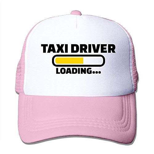 PhqonGoodThing Casual Taxi Driver Unisex Mesh Hip-Hop Baseball Caps Snapbacks Fishing Hats - Cap Taxi Driver