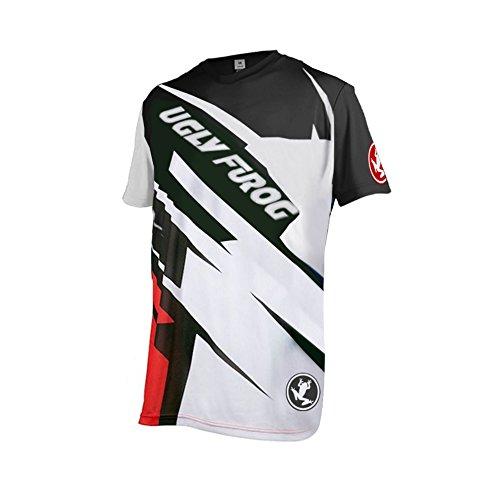Uglyfrog Element Herren MX Motocross/Downhill Jersey Trikot Shirt Enduro Offroad Motorrad Erwachsene Motorräder Zubehör Kurz/Lang Ärmel SJF09