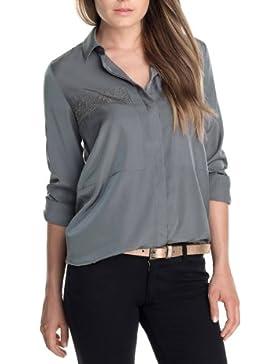 ESPRIT - Blusa de manga larga para mujer