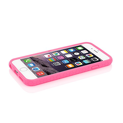 Incipio Octane Pure Case für Apple iPhone 6 / 6S [getestet nach Militärstandard | Integrierter Bumper | Transparent | Hybrid] - IPH-1348-CBLK-INTL Pink