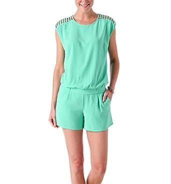Promod Combi-short uni Femme Vert d'Eau 34