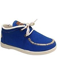 Rodia M-17-04a/S - Mocasines infantil niño azul electrico