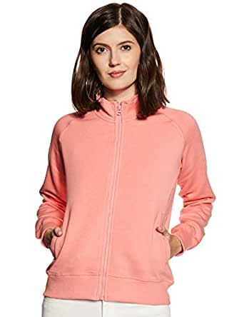 Amazon Brand - Symbol Women's Sweatshirt (AW18WNSSW04_Candle Pink_Small)