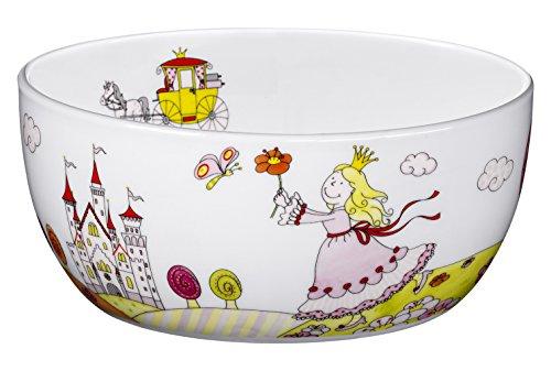 WMF Kindergeschirr Müslischale Prinzessin Anneli spülmaschinengeeignetes Porzellan