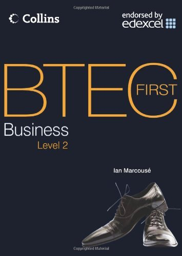 BTEC First Business, Level 2 by Ian Marcouse (2010-06-21)