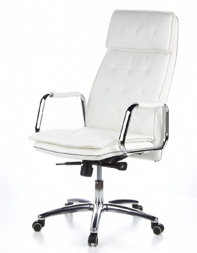 HJH OFFICE 600922 Bürostuhl / Chefsessel VILLA 20 Nappaleder elfenbein - 15