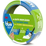 Scotch 20932425, ScotchBlue 20932425 Malerabdeckband (Malerkrepp) optimale Klebkraft auf glatten Oberflächen, 24 mm x 25 m, blau