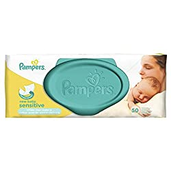 Pampers New Baby Sensitive Baby Wipes 50 per pack