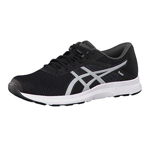asics-fuzor-mens-running-shoes-color-black-white-shoe-size-7-uk