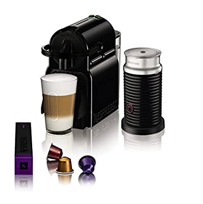 Krups Nespresso Inissia Coffee Capsule Machine - Ruby Red from KRUPS