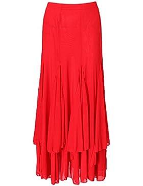 Sharplace Falda Hermosa Baile de Salón Boda Fiesta Ropa con Elegancia Encaje Confortable Vestido De Moda