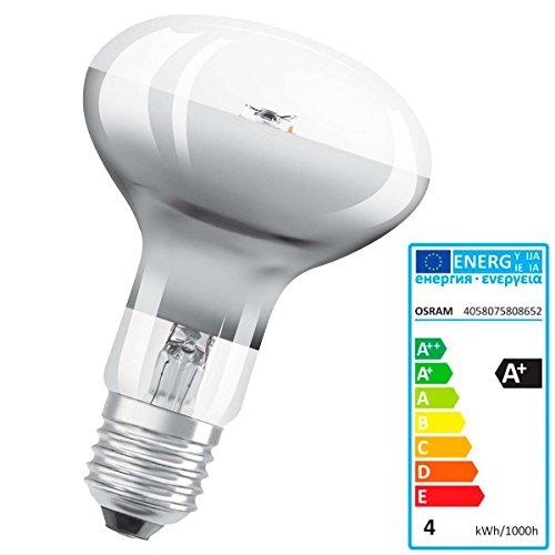 Leuchte LEDVANCE Parathom R804W E27bis + Warm White LED Bulb–LED Bulbs (Warm White, Grey, A +, 50/60, 220–240, 4kWh)