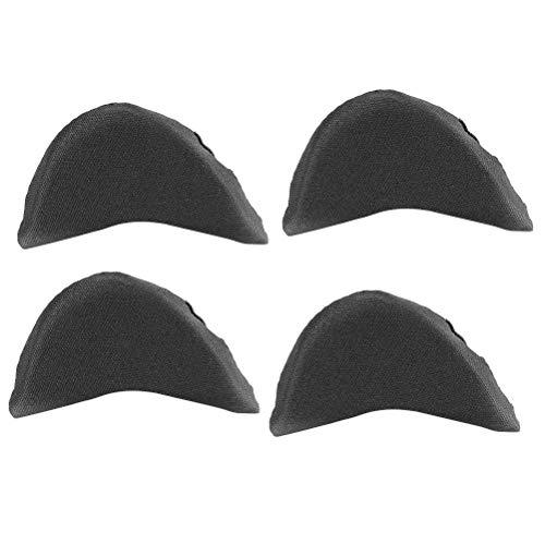 SUPVOX 2 paare Vorfuß Schwamm für Schmerzlinderung Zehenpflege Vorfuß Protektor (schwarz) High-zehe